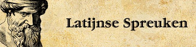 latijn spreuken Latijnse spreuken vind je op   Wijsheden & Spreuken latijn spreuken