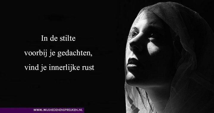 www spreuken In de stilte   Wijsheden & Spreuken www spreuken